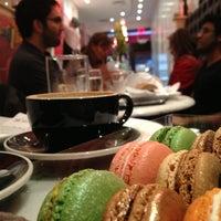 Photo taken at MacarOn Café by Kristine on 5/24/2013
