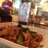 Photo taken at Wondee Siam V by Kristine on 2/18/2013
