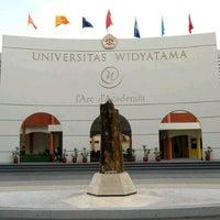 Photo taken at Universitas Widyatama by Rizki R. on 1/14/2013