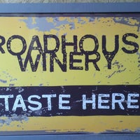 Photo taken at RoadHouse Winery by Ken W. on 3/1/2013