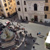 Photo taken at Piazza della Madonna dei Monti by Nicholas B. on 5/5/2013