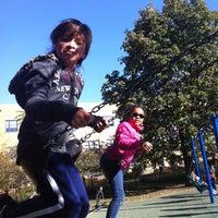 Photo taken at Skinner Park by Christina G. on 10/8/2012