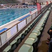 Photo taken at Sydney Olympic Park Aquatic Centre by Dan B. on 5/2/2015