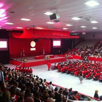 Photo taken at Walter Brown Arena by Gabe D. on 5/19/2013
