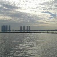 Photo taken at Pelabuhan Muara Angke by Vicka R. on 5/18/2013