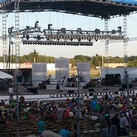 Photo taken at Missouri State Fair Grounds Grandstand by Chip S. on 8/15/2014
