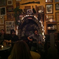 Photo taken at An Beal Bocht Cafe by Julienne k. on 5/27/2013