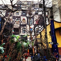 Photo taken at KUNST HAUS WIEN. Museum Hundertwasser by Voyagique on 3/10/2013