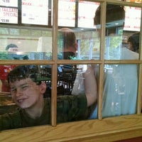 Photo taken at Bojangles' Famous Chicken 'n Biscuits by Karen N. on 4/9/2016
