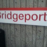 Photo taken at Bridgeport Train Station (BRP) - Metro North & Amtrak by Aasim L. on 7/3/2013
