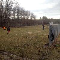 Photo taken at Christy Mathewson Baseball Field by Michael M. on 4/5/2014