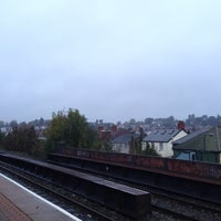 Photo taken at Waun-Gron Park Railway Station (WNG) by James F. on 11/11/2013