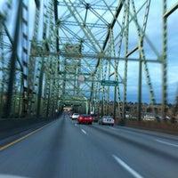 Photo taken at Interstate Bridge by John L. on 4/2/2013