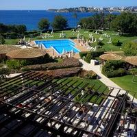 Photo taken at The St. Regis Mardavall Mallorca Resort by Markus O. on 6/9/2013