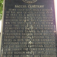Photo taken at Baccus Cemetery by Beckie R. on 6/20/2013