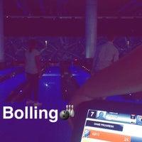 Photo taken at Yalla Bowling Lanes by Rahaf ♡. on 8/24/2016