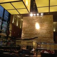 Photo taken at YEW seafood + bar by David R. on 1/11/2013