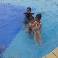 Photo taken at Water Park Top 100 by Nur Hasan MTA671 M. on 2/19/2016