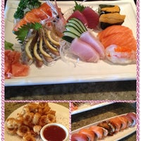 Photo taken at Sushi Hana Fusion Cuisine by Uiki C. on 3/12/2014