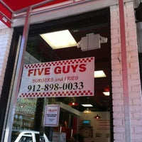 Photo taken at Five Guys by Phil B. on 11/2/2012