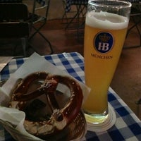 Photo taken at Hofbräu München Beer Hall by Iryna A. on 12/5/2012