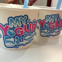 Photo taken at My Yogurt Bliss by Lauren D. on 3/17/2013