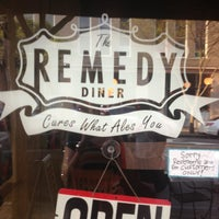 Photo taken at The Remedy Diner by Kristi M. on 6/16/2013