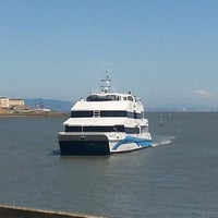 Photo taken at Golden Gate Larkspur Ferry Terminal by Tom G. on 6/19/2013