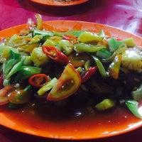Photo taken at Santiga Seafood (Abeng) by Chelsea M. on 6/19/2016