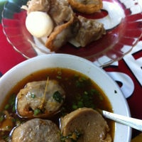 Photo taken at Bakso Kumis by Chelsea M. on 6/20/2014