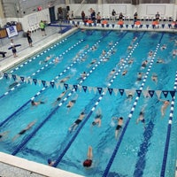 Photo taken at McCoy Natatorium by G. Michael G. on 3/24/2013