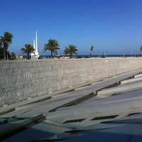 Photo taken at Bibliotheca Alexandrina by Andrew G. on 1/19/2013