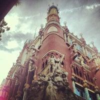 Foto tomada en Palau de la Música Catalana por Raúl S. el 12/27/2012