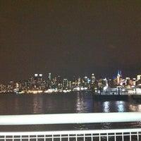 Photo taken at NJT - Port Imperial Light Rail Station by Alejandra Z. on 1/17/2013