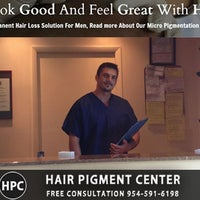 Photo taken at HPC Scalp MicroPigmentation Center by Dr. Andrea E. on 8/18/2014