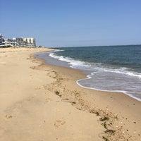 Photo taken at Oceanview Beach by Teela J. on 3/25/2015