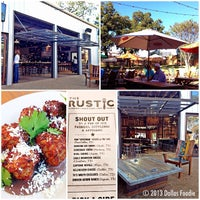 Photo taken at The Rustic by Dallas Foodie (. on 10/22/2013