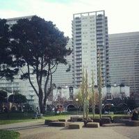 Photo taken at Sydney Walton Park by Hanz C. on 2/2/2013