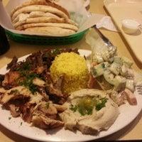 Photo taken at Aladdin's Mediterranean Grill & Deli by Erik L. on 2/9/2013