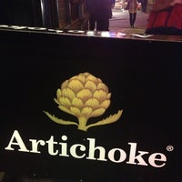 Photo taken at Artichoke Basille's Pizza & Brewery by Kimberly S. on 1/11/2013
