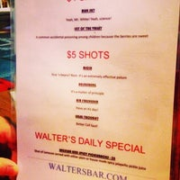 Photo taken at Walter's Bar by Brook H. on 9/29/2013