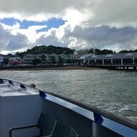 Photo taken at Devonport Ferry Terminal by Kara K. Devo on 5/18/2013