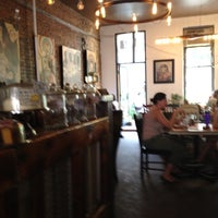 Photo taken at Outpost Café and Bar by Marti Z. on 8/26/2012