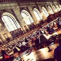 Photo taken at New York Public Library by Paulo R. on 3/30/2013