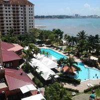 Photo taken at Glory Beach Resort by Zainulariffin H. on 2/9/2013