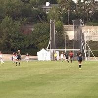 Photo taken at UCLA Marshall Field (in Drake Stadium) by Senator F. on 11/24/2014