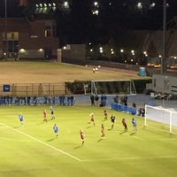 Photo taken at UCLA Marshall Field (in Drake Stadium) by Senator F. on 11/22/2014