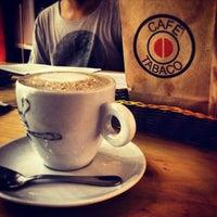 Photo taken at Café Tabaco by Vikki D. on 3/13/2013