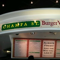 Photo taken at Champa St. Burger Works by Jenn O. on 2/4/2012