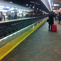 Photo taken at Warrington Bank Quay Railway Station (WBQ) by Simon W. on 11/9/2012